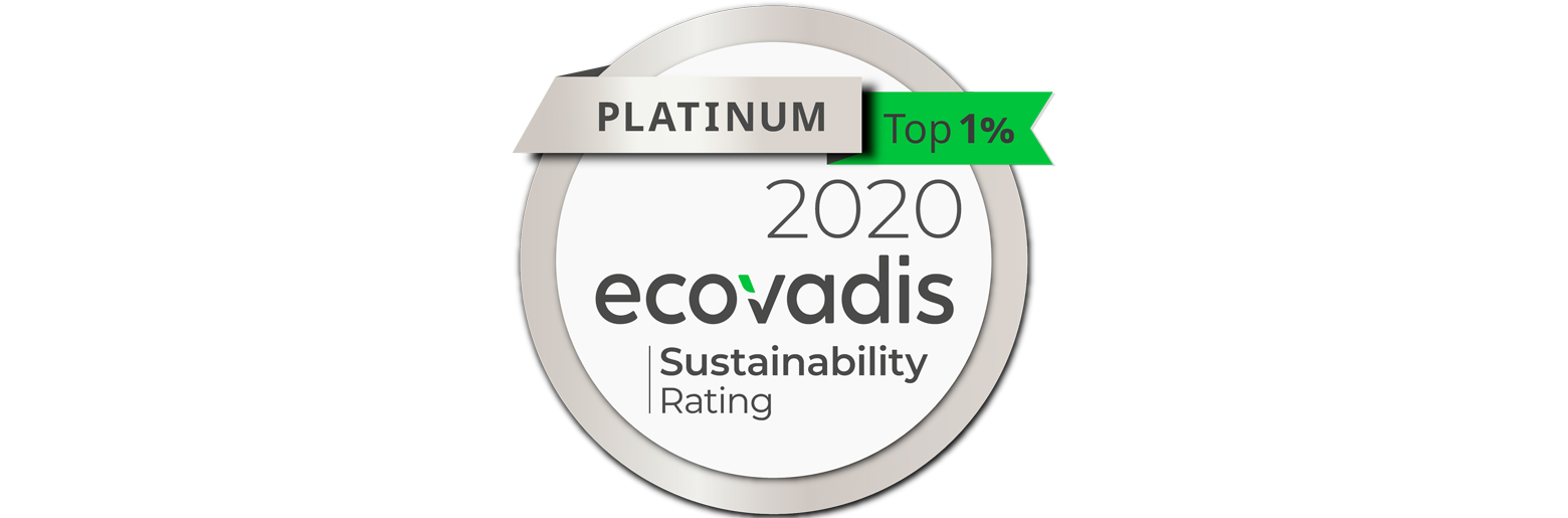 20200706_Platinum medal from Ecovadis